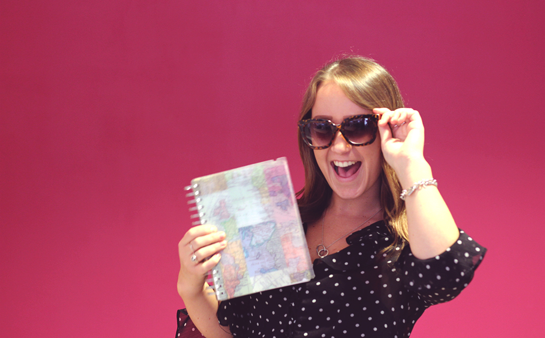 Lisa Pearce, Account Manager, Education Technology, silly photo