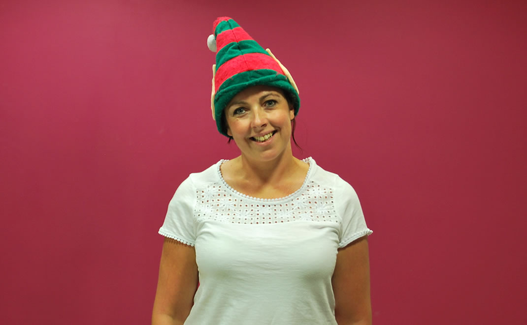 Louise Parry, Account manager, Bristol Property Live, silly photo
