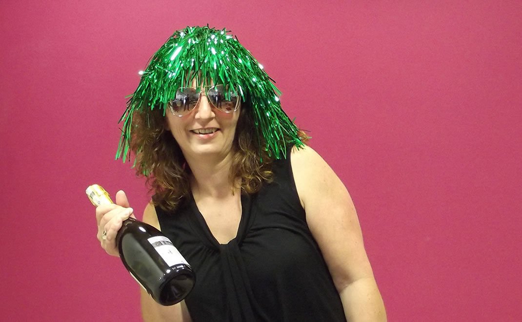 Nejla Walker, Account manager, Bristol Property Live, silly photo